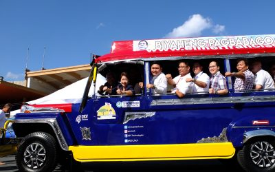 EFI – Francisco Passenger Jeepney (eFPJ) partners with MYEG Philippines for jeepney Automated Fare Collection System