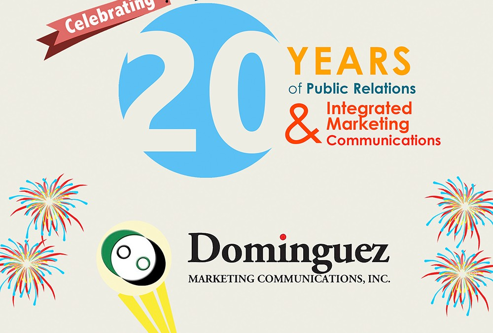 Dominguez Marketing Communications Inc at 20: A fulfilling, triumphant journey