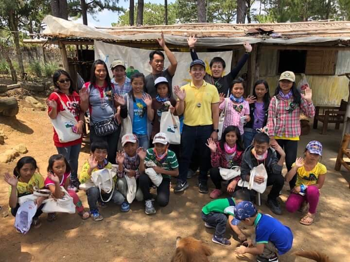 Filipino youth join NEC World Children's Nature