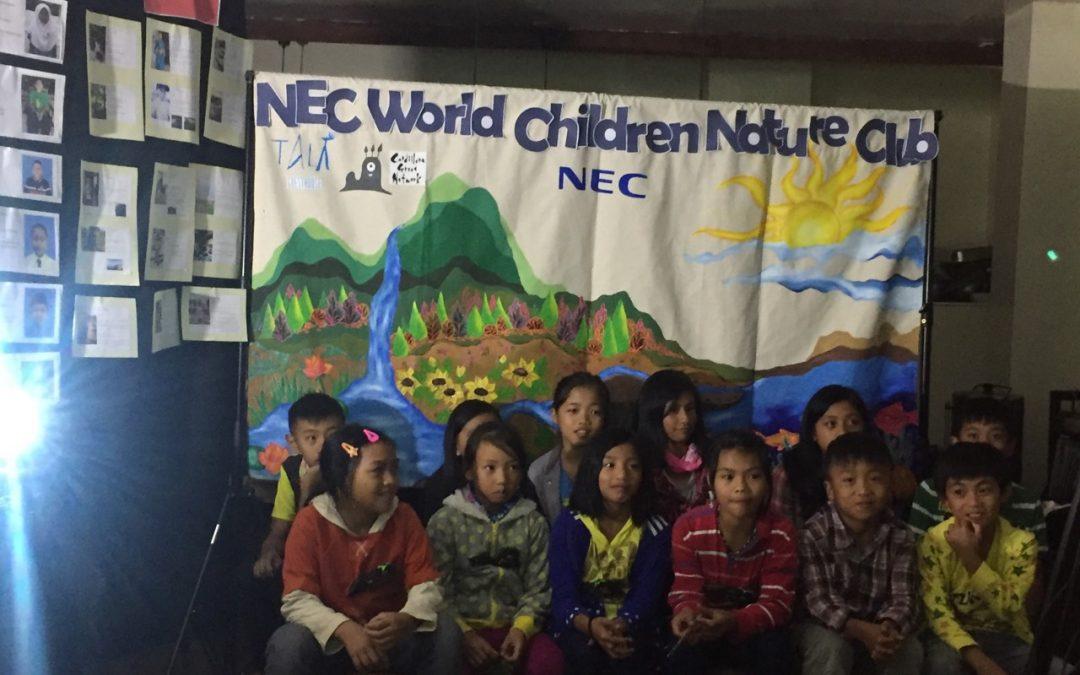 Filipino youth join NEC World Children's Nature Club