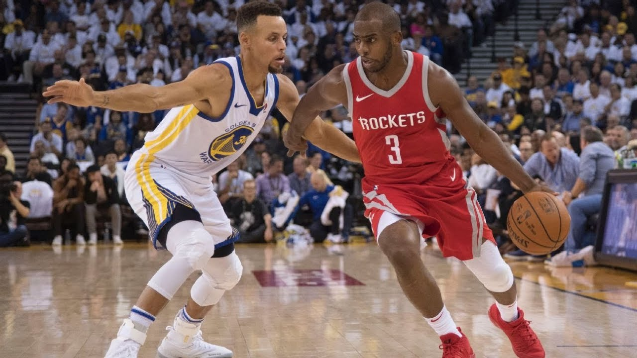 Houston Rockets versus Golden State Warriors