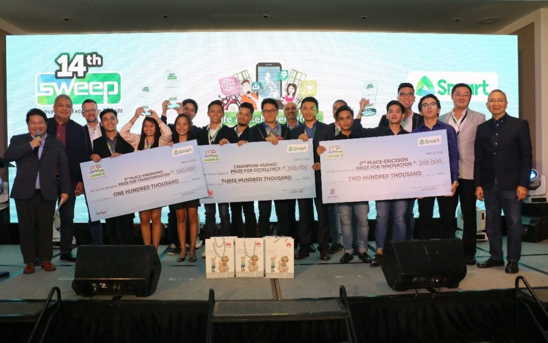 Cebu schools sweep top awards at Smart innovation competition