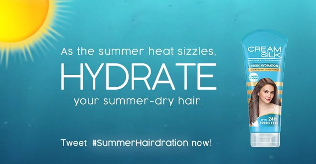 Cream Silk Gives Twitter Users a Fresh Surprise to have a #SummerHairdration