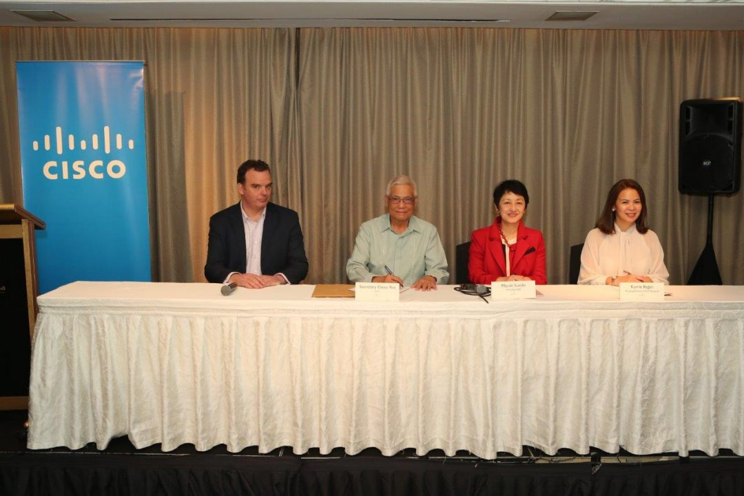 DICT and Cisco Sign Memorandum of Understanding to Collaborate and Strengthen Cybersecurity in the Philippines