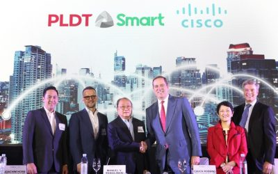 PLDT, Cisco team up for 5G-ready IP transport network