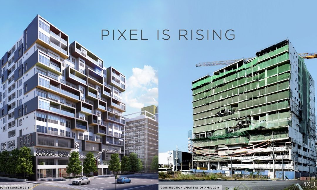 Pixel Residences Nears Completion