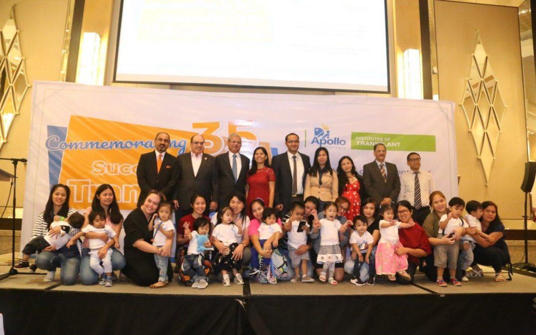 Apollo Hospitals in New Delhi, India completes 35 successful Pediatric Liver Transplant in Filipino children