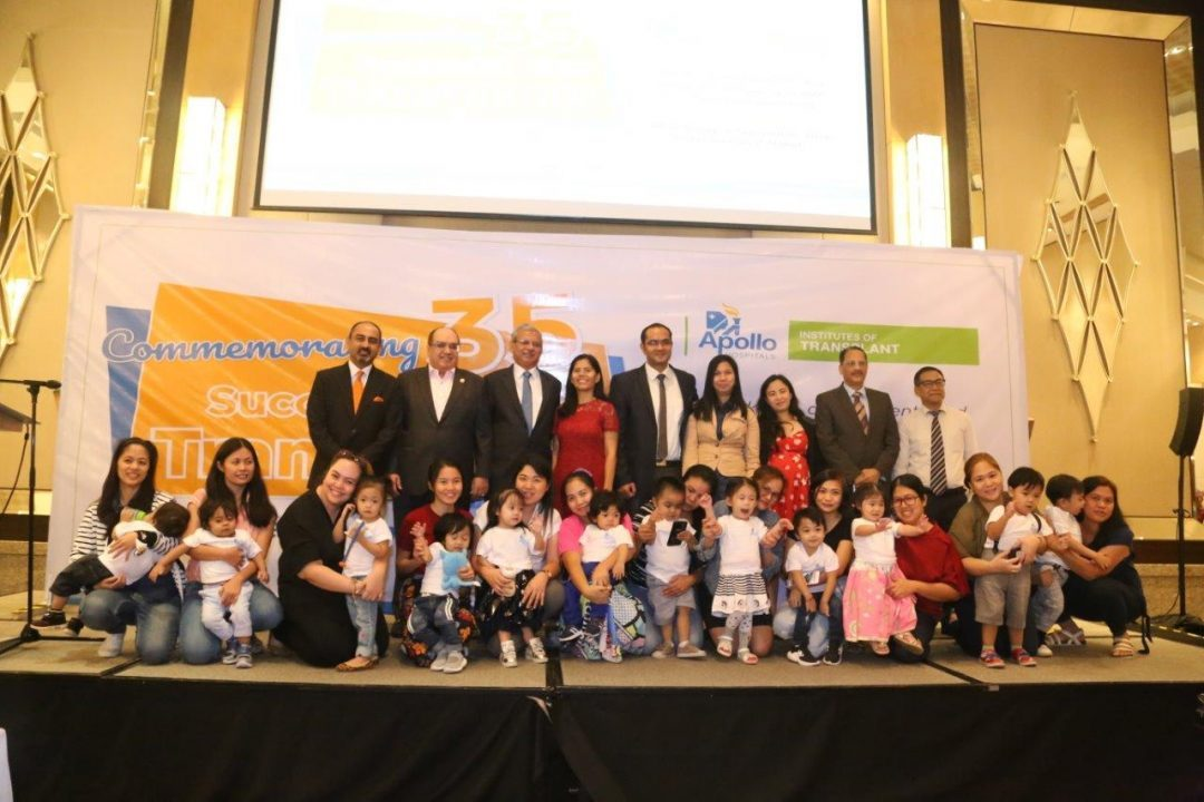 Apollo Hospitals in New Delhi, India completes 35 successful Pediatric Liver Transplant in Filipino children