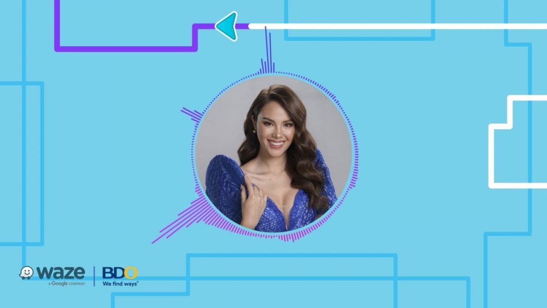 Waze and BDO crown Catriona Gray as the Newest Waze voice