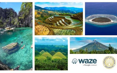 Waze Partners with the Department of Tourism to Bring the Wonders of the Philippines Closer to Filipinos