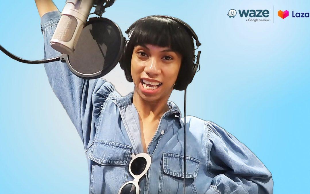 Waze adds new phrases with Lazada Ambassador Mimiyuuuh's voice option