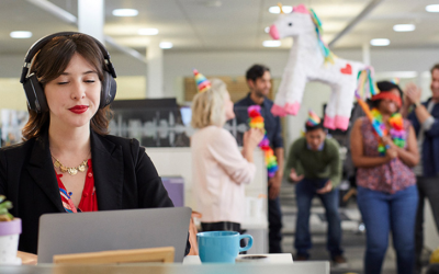 Nearly All Your Employees Are Distracted in Today's Open Office