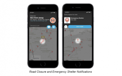 Waze activates Crisis Response features for Taal operations