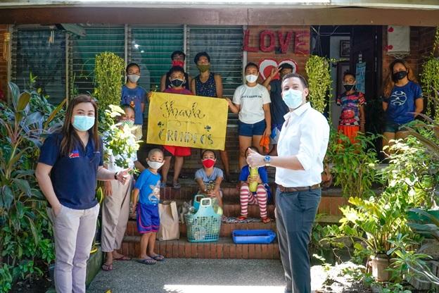 Grundfos Foundation, sinuportahan ang mahigit isang libong ulila at childcare frontliners sa bansa