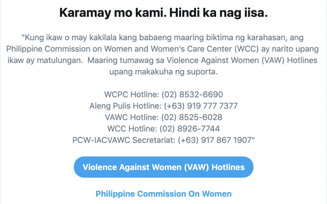 Twitter launches search-prompt notification for gender-based violence